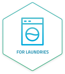 Hydrofinity water-saving laundry technology for commercial laundries