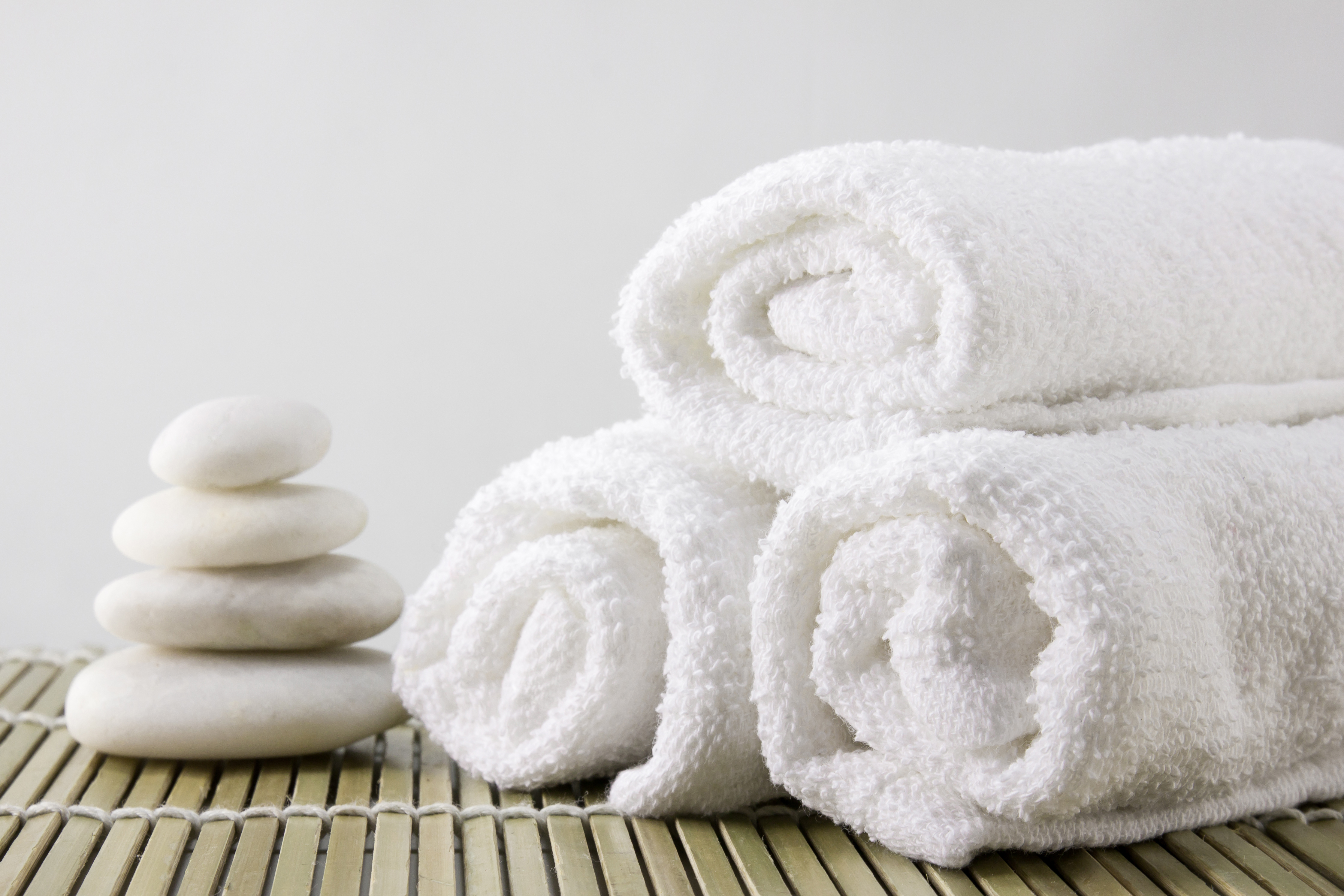 Spa towels for laundering